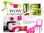 Bright Colors for Home Add Wow Factor