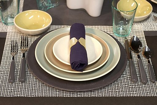 "Informal Place Setting by ""Dinner Series"""