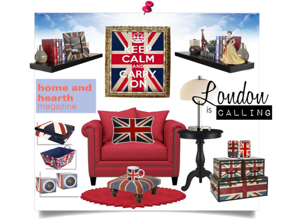 British Inspired Home Decor