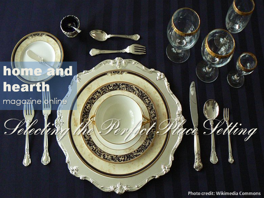 Setting the perfect place setting for the holidays