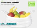 Shopping Bag Fruit Bowl at the MoMA Store