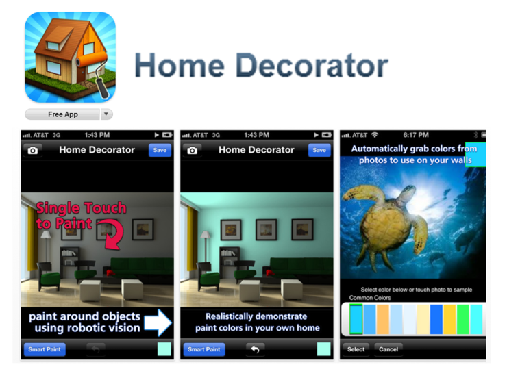 The Home Decorator App