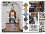 There is a wide variety of stone floor tile styles