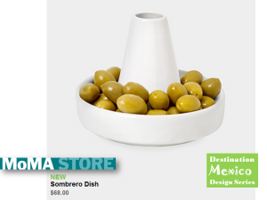Sombrerou Dish at the MoMA Store