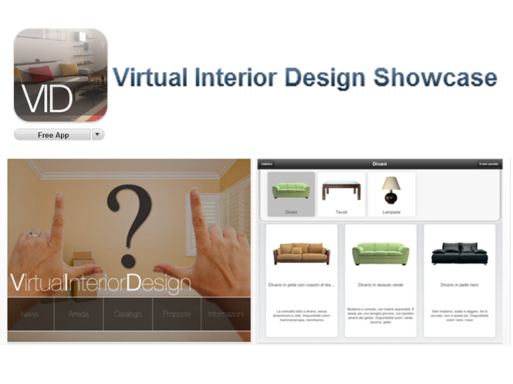 Virtual Interior Design App