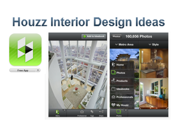 Houzz Home Design App