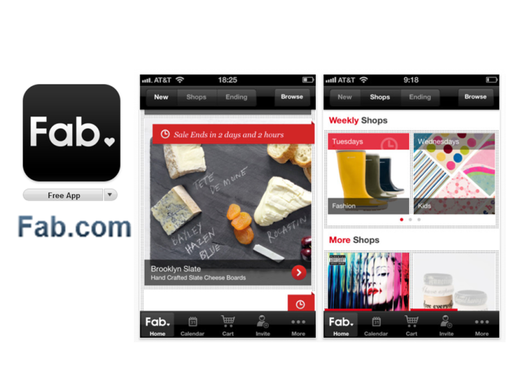 The Fab.com App