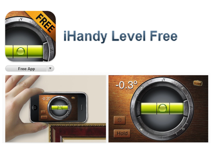 The iHandy Level App