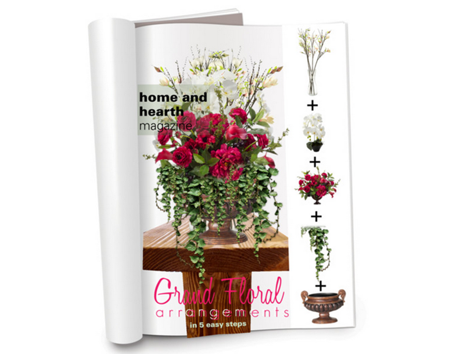 Grand Flower Arrangements http://homeandhearthmagazine.com/2012/07/19/5-easy-steps-for-creating-grand-floral-arrangements/