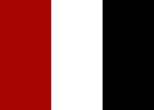 red white and black color scheme