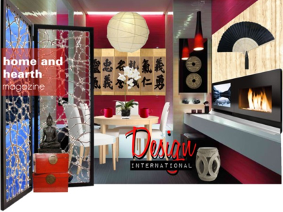 powerful color schemes red black and white home and hearth magazine