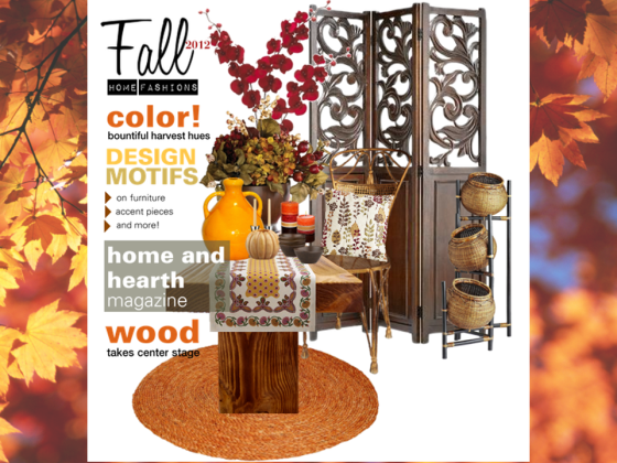Fall Home Fashions 2012