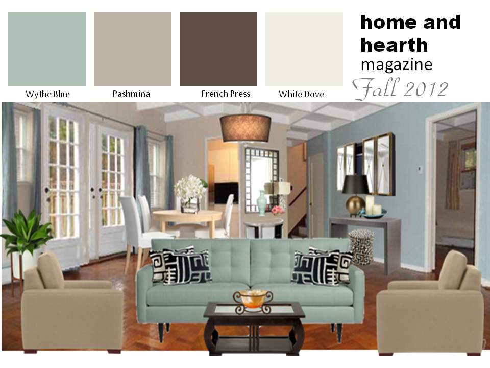 The Popularity of Blue in Home Decor