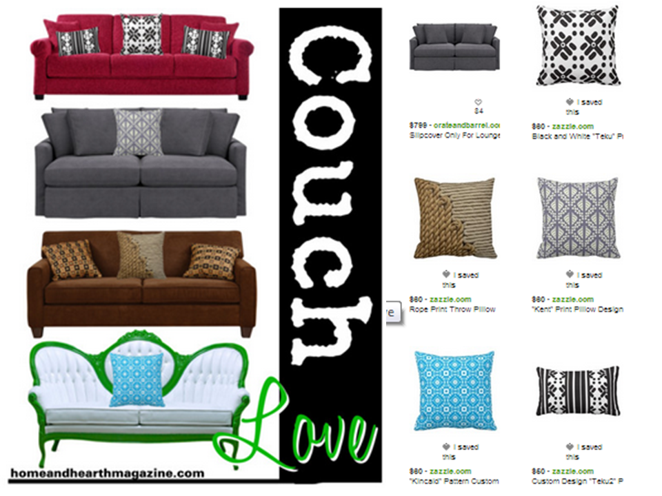 Comfortable Couch Designs
