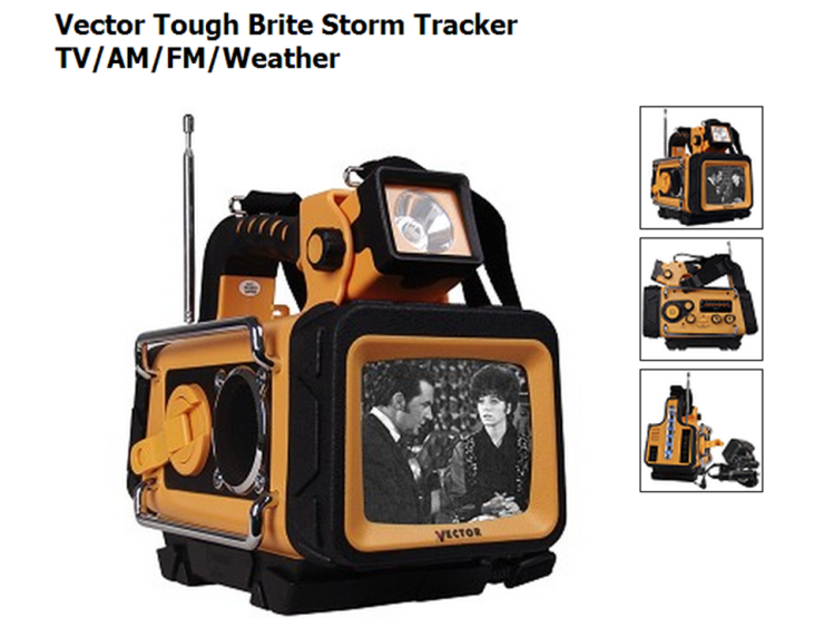 Storm Tracker All-In-One Lantern Unit